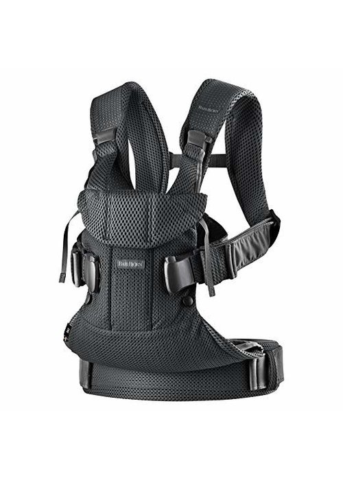 Baby Bjorn BABYBJORN Baby Carrier One, Air  In Black In 3D Mesh
