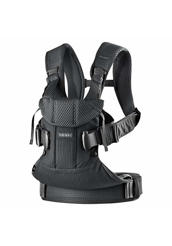 BABYBJORN Baby Carrier One, Air  In Black In 3D Mesh