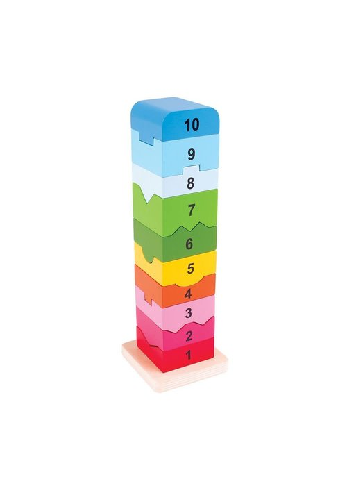 Bigjigs Toys Bigjigs Toys Number Tower