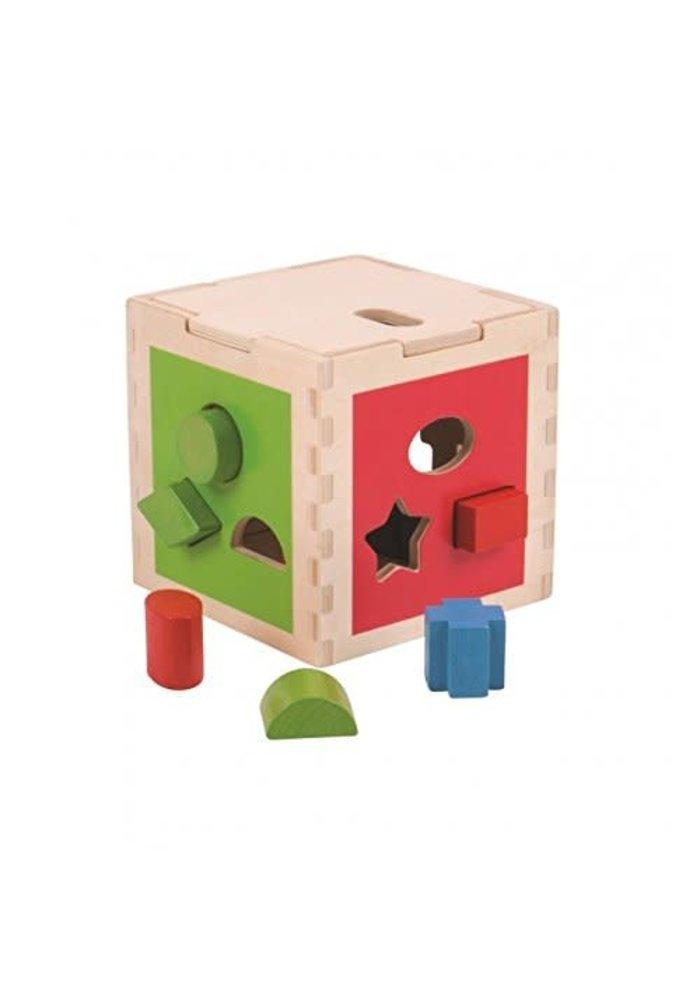 Bigjigs Toys Shape Sorting Cube