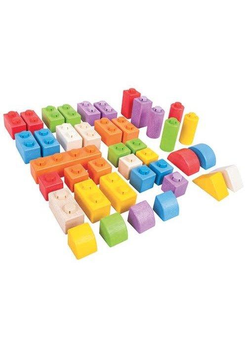 Bigjigs Toys Bigjigs Toys Click Blocks (Intermediate Pack)