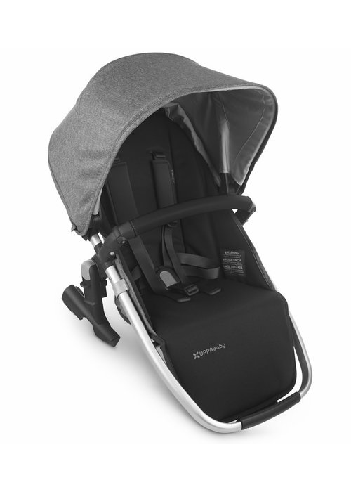 UppaBaby 2020 Uppa Baby Vista Rumble Seat V2 (Only) In JORDAN (charcoal mélange/silver/black leather)