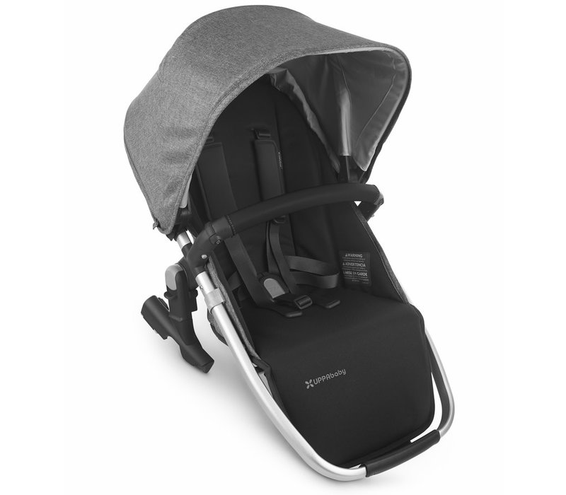 2020 Uppa Baby Vista Rumble Seat V2 (Only) In JORDAN (charcoal mélange/silver/black leather)