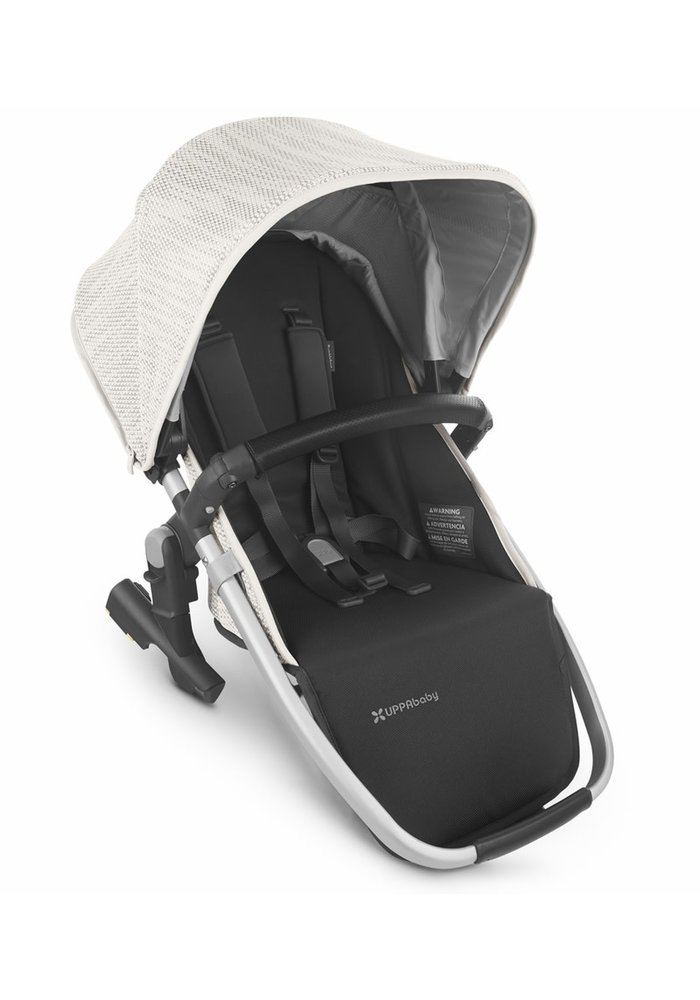 2020 Uppa Baby Vista Rumble Seat V2 (Only) In SIERRA (dune knit/silver/black leather)