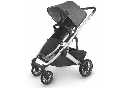 UppaBaby Uppa Baby Cruz V2 Stroller In JORDAN (charcoal mélange/silver/black leather)