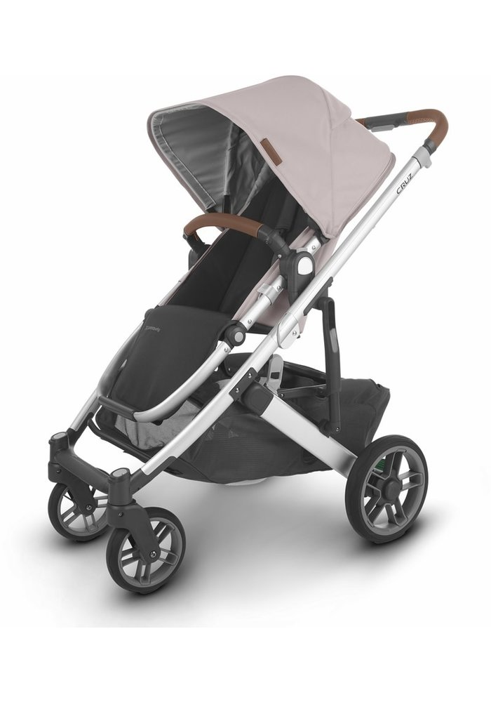 Uppa Baby Cruz V2 Stroller In ALICE (dusty pink/silver/saddle leather)