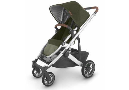 UppaBaby Uppa Baby Cruz V2 Stroller In HAZEL (olive/silver/saddle leather)