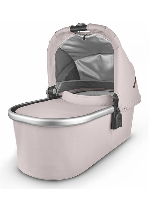 UppaBaby Uppa Baby Vista-Cruz V2 Bassinet - ALICE (dusty pink/silver/saddle leather)