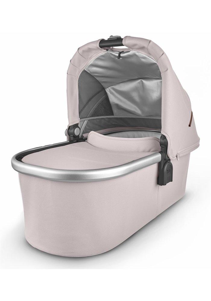 Uppa Baby Vista-Cruz V2 Bassinet - ALICE (dusty pink/silver/saddle leather)