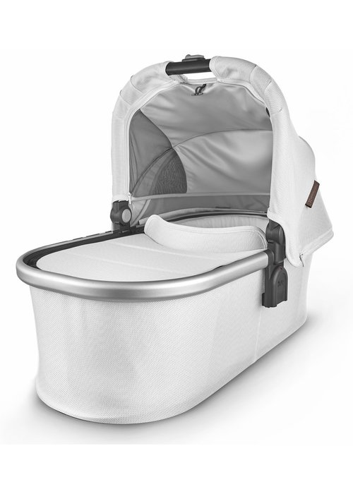 UppaBaby Uppa Baby Vista-Cruz V2 Bassinet - BRYCE (white marl/silver/chestnut leather)