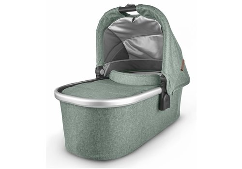 UppaBaby Uppa Baby Vista-Cruz V2 Bassinet- EMMETT (green mélange/silver/saddle leather)