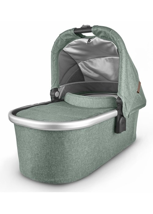 UppaBaby Uppa Baby Vista-Cruz V2 Bassinet- EMMETT (green mélange/silver/saddle leather)