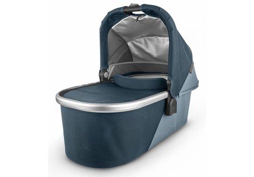UppaBaby Uppa Baby Vista-Cruz V2 Bassinet - FINN (deep sea/silver/chestnut leather)