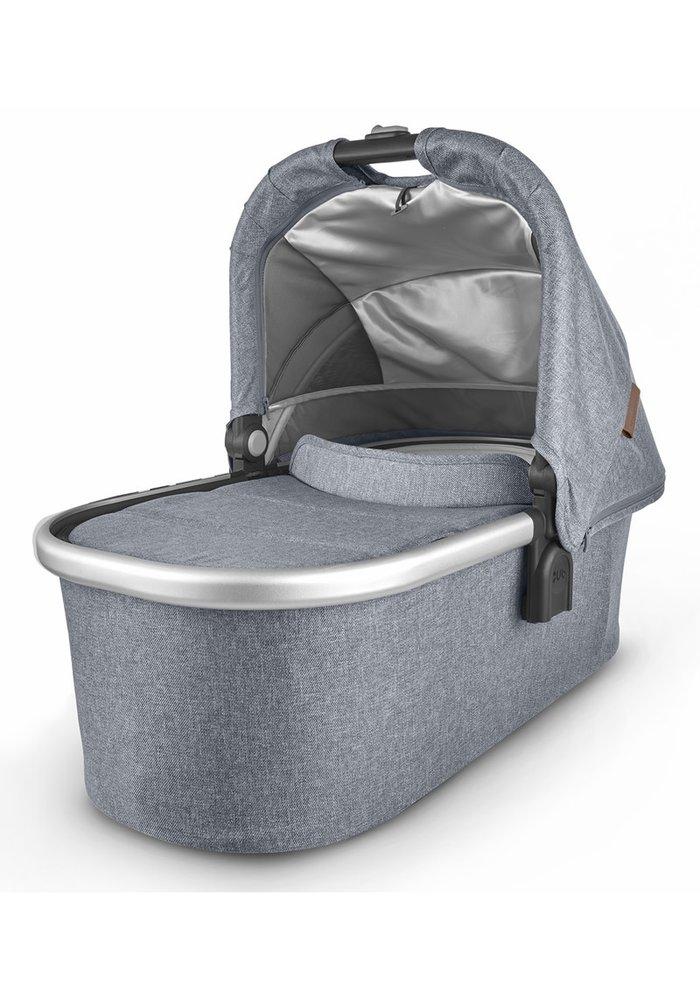 Uppa Baby Vista-Cruz V2 Bassinet - GREGORY (blue mélange/silver/saddle leather)