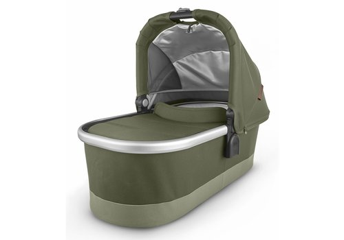 UppaBaby Uppa Baby Vista-Cruz V2 Bassinet - HAZEL (olive/silver/saddle leather)