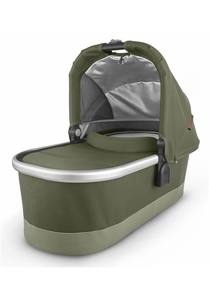 Uppa Baby Vista-Cruz V2 Bassinet - HAZEL (olive/silver/saddle leather)