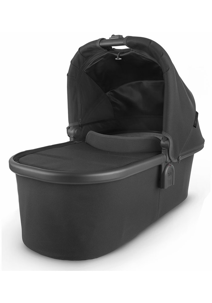 Uppa Baby Vista-Cruz V2 Bassinet - JAKE (black/carbon/black leather)