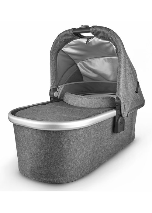 UppaBaby Uppa Baby Vista-Cruz V2 Bassinet - JORDAN (charcoal mélange/silver/black leather)