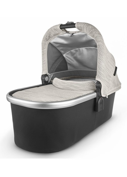 UppaBaby Uppa Baby Vista-Cruz V2 Bassinet- SIERRA (dune knit/silver/black leather)