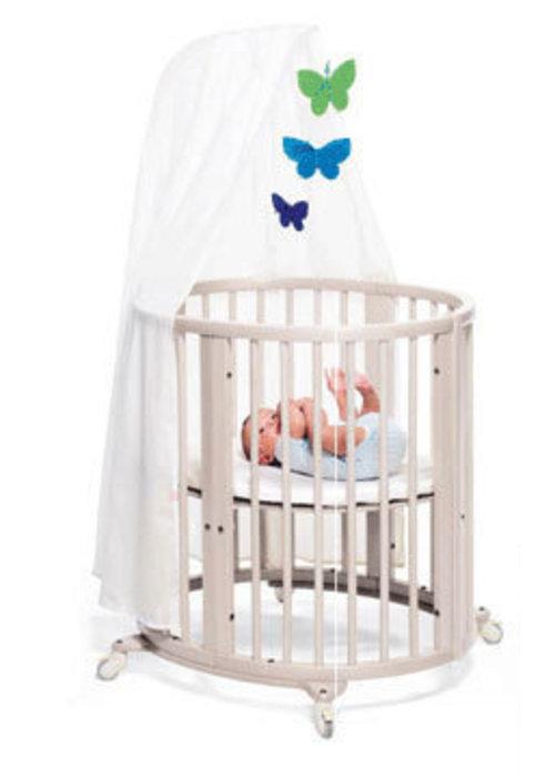 Stokke Stokke Sleepi Mini Bundle In White With Mattress Includes Drape Rod