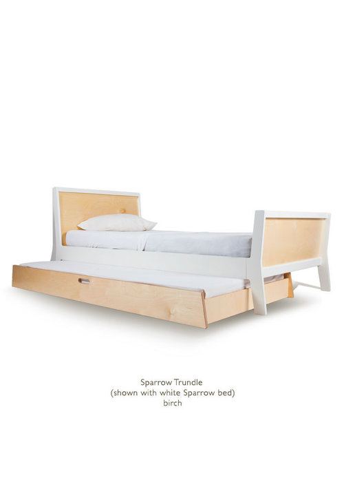 Oeuf Oeuf Sparrow Collection Twin Bed Trundle In Birch
