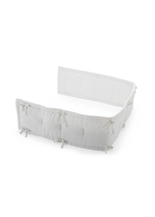 Stokke CLOSEOUT!! Stokke Home Half Bumper In White