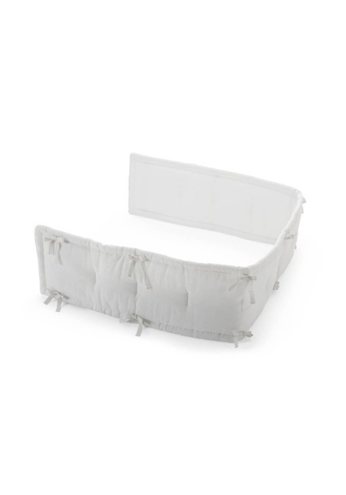 CLOSEOUT!! Stokke Home Half Bumper In White