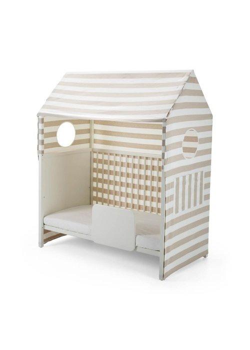 Stokke CLOSEOUT!! Stokke Home Bed Roof In Beige Stripe