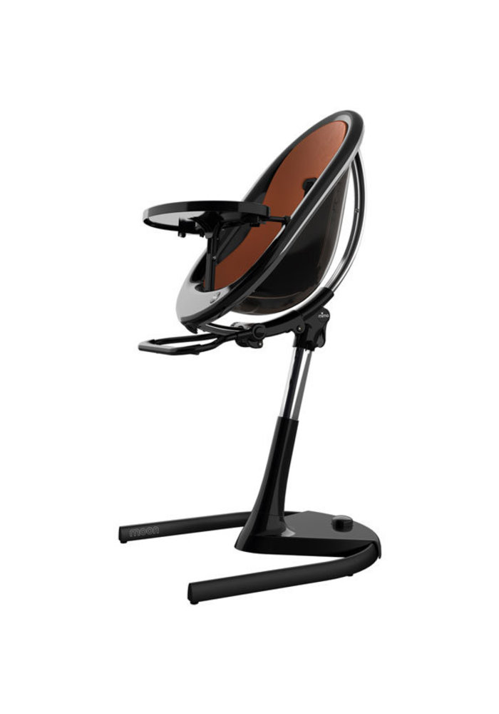 Mima Kids Moon 2G 3-in-1 Highchair In Black- Camel