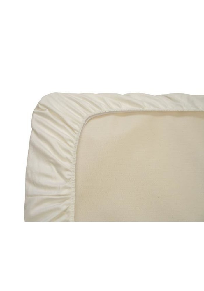 CLOSEOUT!! Naturepedic Organic Cotton Flannel Crib Sheet (1 Pack)