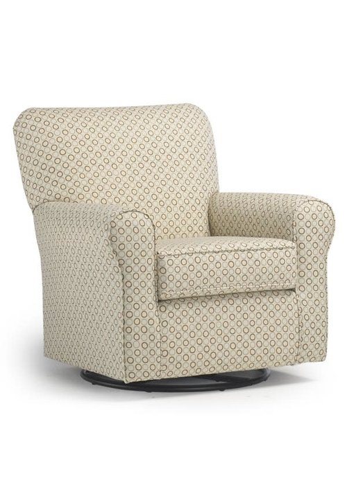 Best Chairs Best Chairs Story Time Hagen Swivel Glider- Custom Design Your Own Color