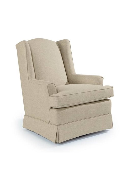 Best Chairs Best Chairs Story Time Natasha Swivel Glider- Custom Design Your Own Color