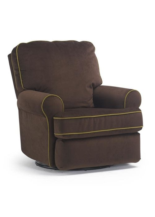 Best Chairs Best Chairs Story Time Tryp Swivel Glider Recliner- Custom Design Your Own Color