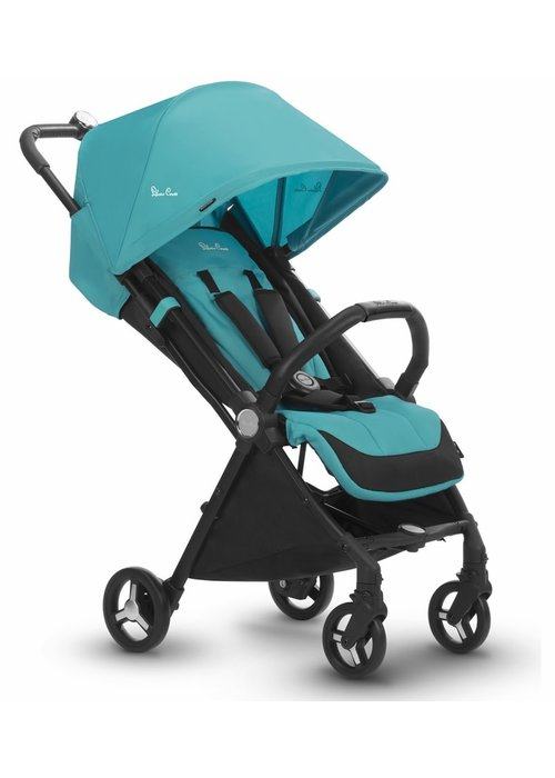 Silver Cross CLOSEOUT!! Silver Cross Jet Light Weight Stroller In Bluebird