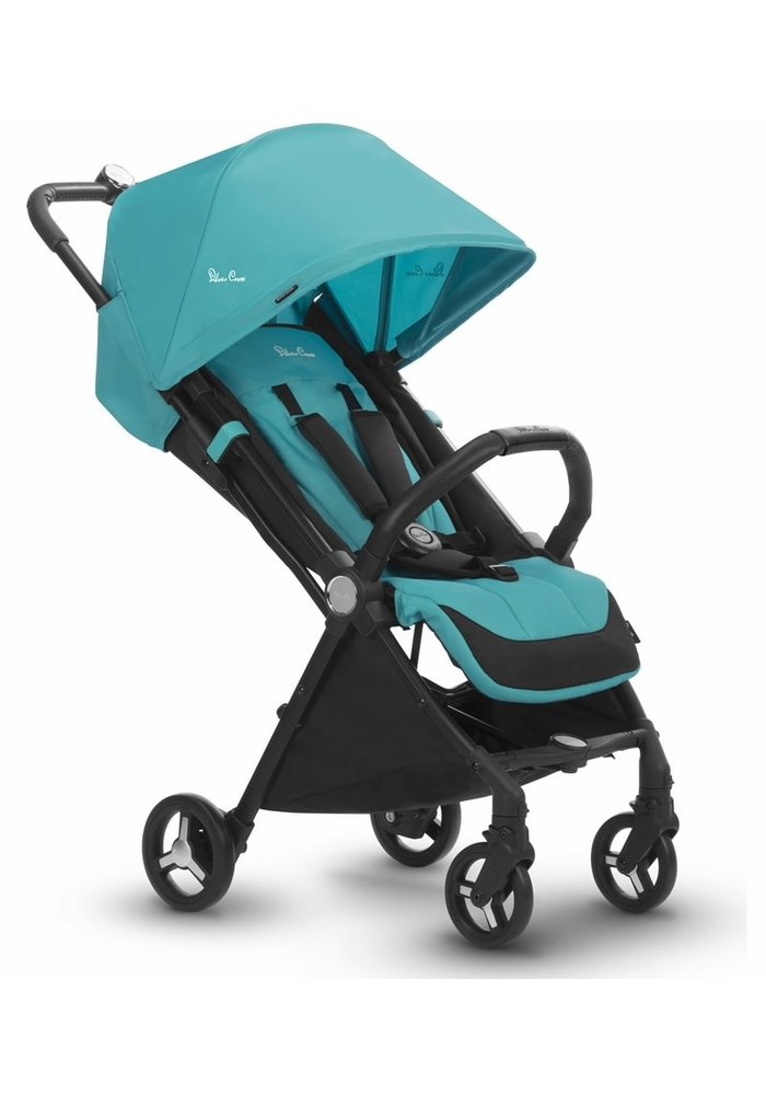 CLOSEOUT!! Silver Cross Jet Light Weight Stroller In Bluebird
