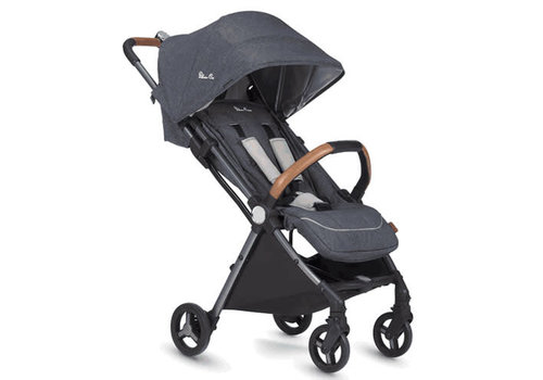 Silver Cross CLOSEOUT!! Silver Cross Jet Light Weight Stroller In Special Edition In Orkney (Blue)