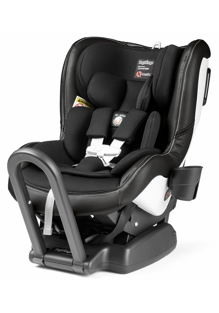Peg Perego Primo Convertible Kinetic Carseat In Licorice