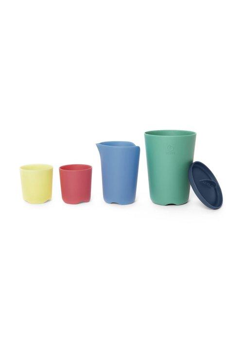 Stokke Stokke Flexi Bath Toy Cups In Multi Colour