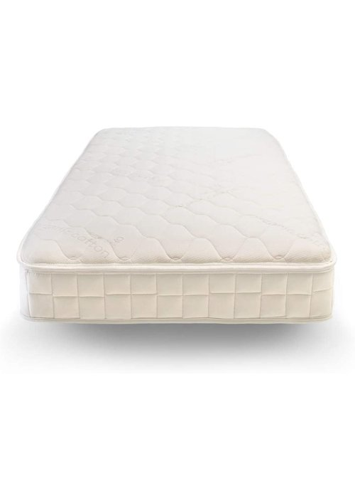 "Naturepedic Naturepedic Verse Twin Size Quilted 1 Sided Mattress 38"" X 75"" X 9"""