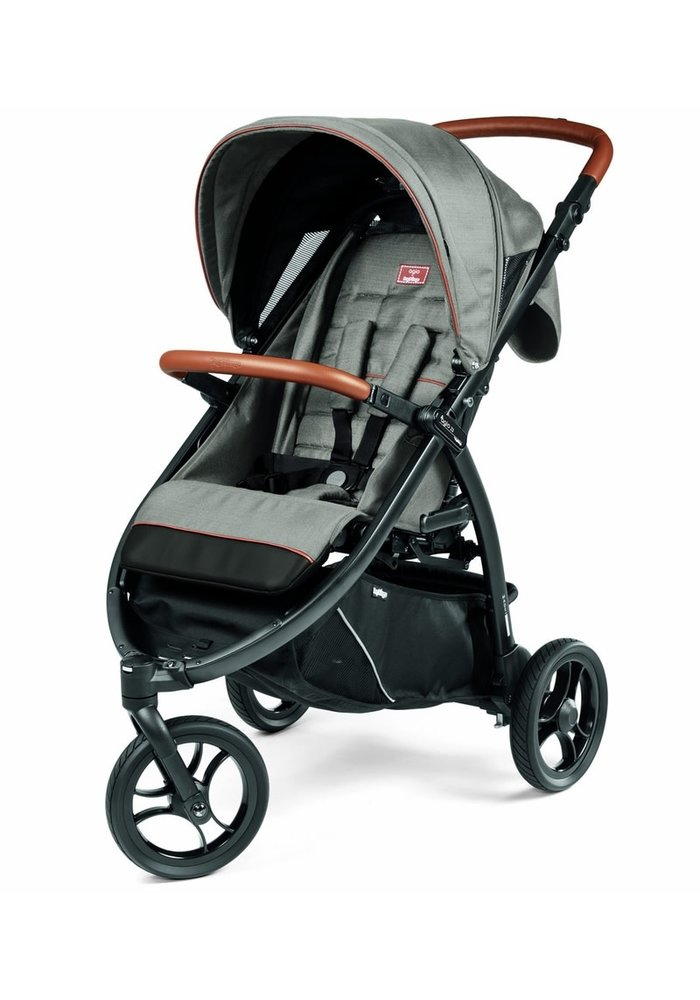 Peg Perego Z3 Stroller In Agio Grey
