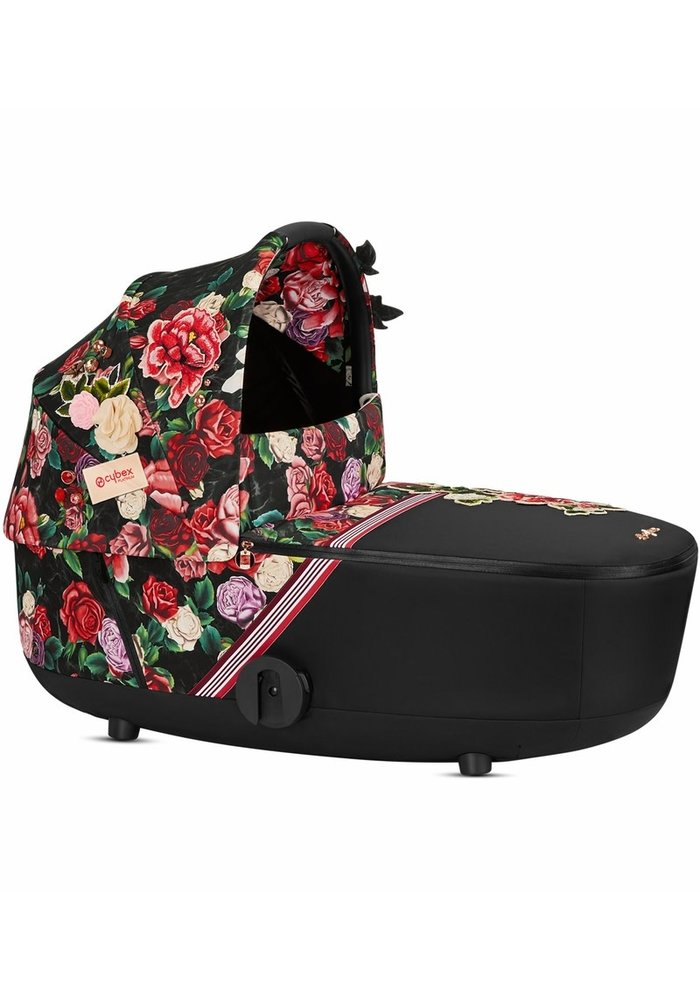 Cybex Mios Lux Carry Cot In Spring Blossom Dark