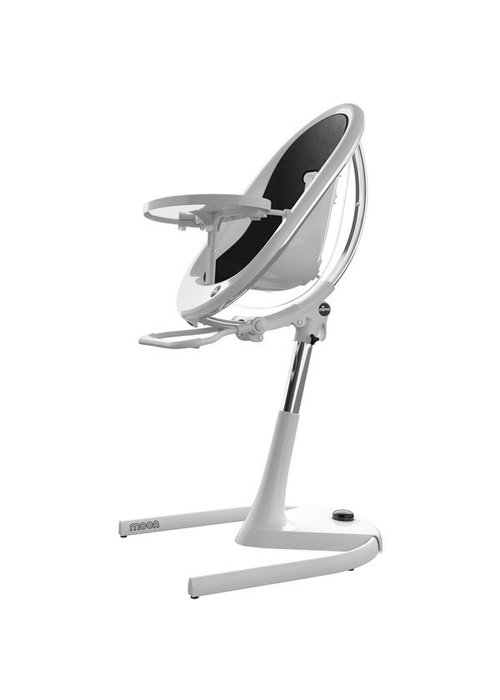 Mima Kids Mima Kids Moon 2G 3-in-1 Highchair In White- Black