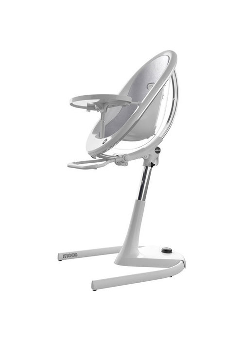 Mima Kids Mima Kids Moon 2G 3-in-1 Highchair In White-Silver