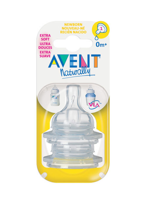 Avent Philips Avent Classic Newborn Nipple 2 In A Package #1