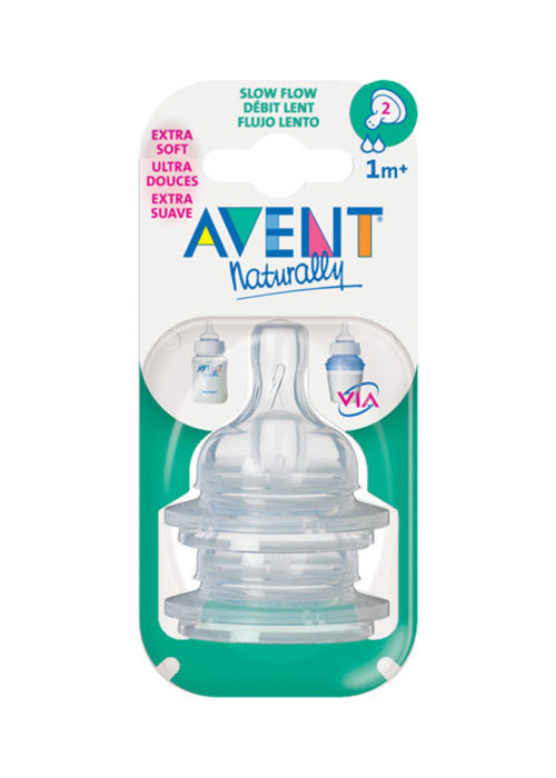 Avent Philips Avent Classic Slow Flow Nipple  2 In A Package #2