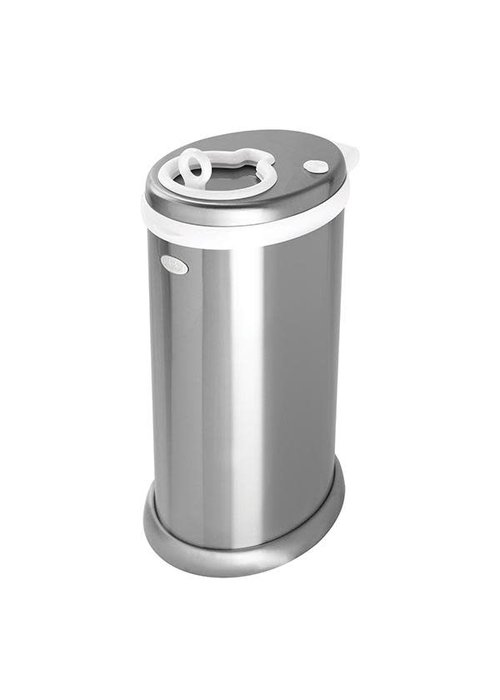 Ubbi World Ubbi Diaper Pail In Silver (Chrome)