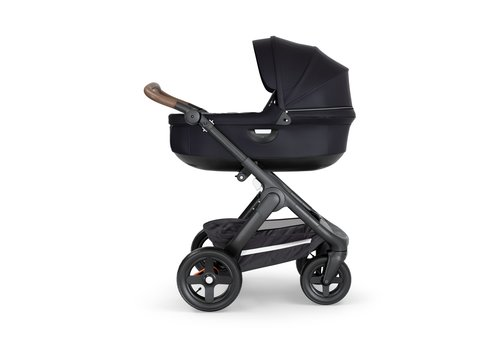 Stokke Stokke Crusi And Trailz Carrycot In Black (Frame Not Included)