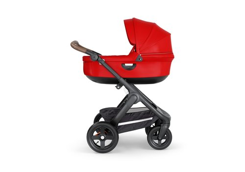 Stokke Stokke Crusi And Trailz Carrycot In Red (Frame Not Included)