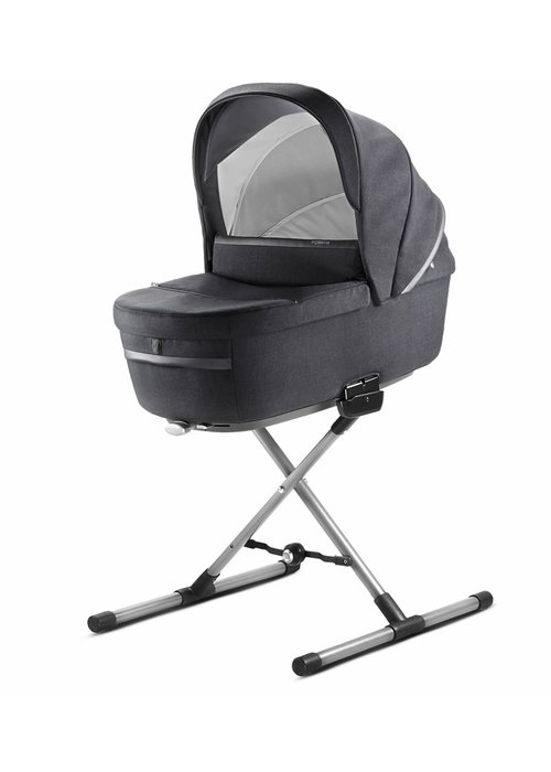 Inglesina 2020 Inglesina Aptica Bassinet Plus Stand In Mystic Black