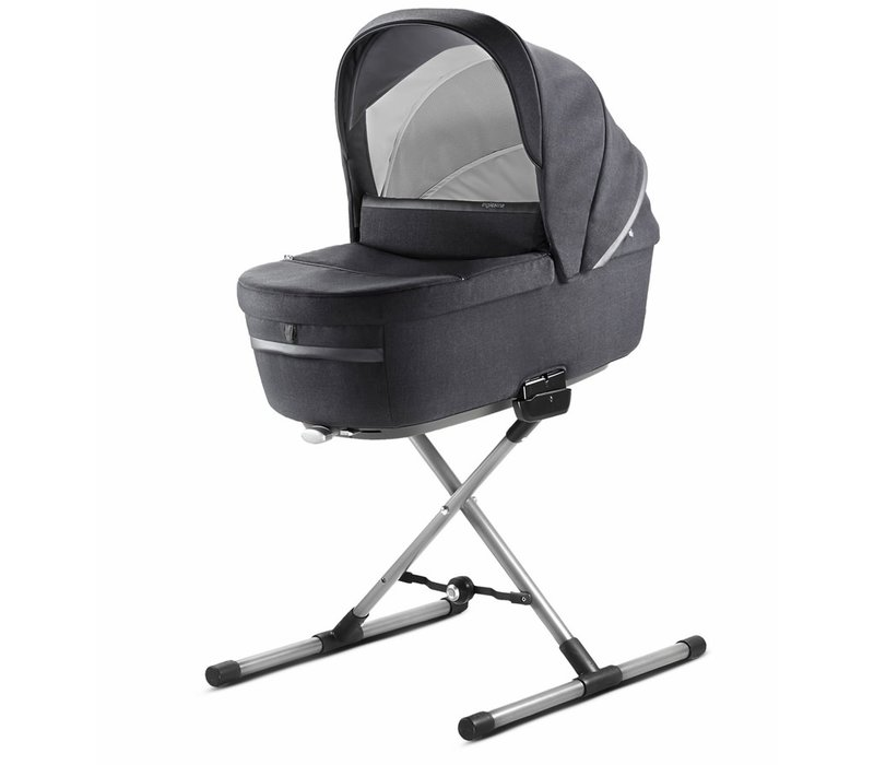 2020 Inglesina Aptica Bassinet Plus Stand In Mystic Black